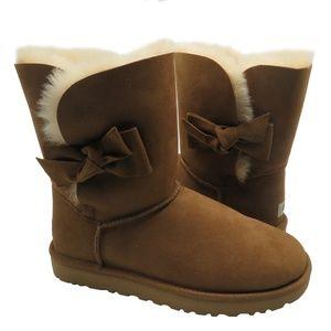 UGG Australia DAELYNN Chestnut Sheepskin Booties